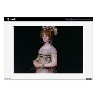 "Portrait of Maria Theresa de Bourbon y Vallabriga, 15"" Laptop Skin"