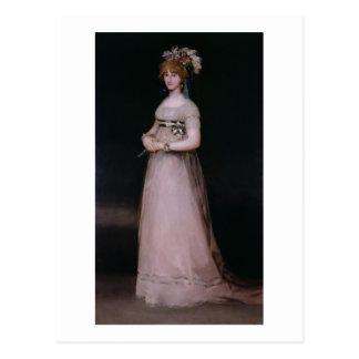 Portrait of Maria Theresa de Bourbon y Vallabriga, Postcard