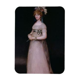 Portrait of Maria Theresa de Bourbon y Vallabriga, Vinyl Magnets