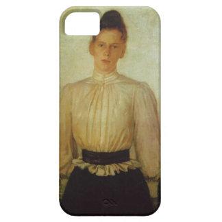 Portrait of Maria Tolstaya by Nikolai Ge iPhone 5 Case