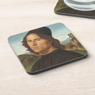 Portrait of Marianito Goya, Grandson of the Artist Drink Coaster
