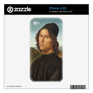 Portrait of Marianito Goya, Grandson of the Artist Decal For The iPhone 4S