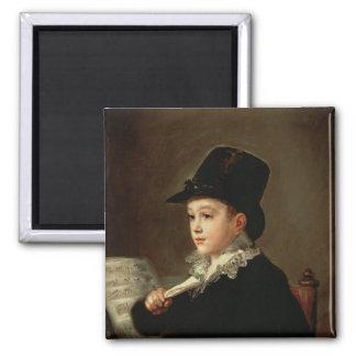 Portrait of Marianito Goya Magnet