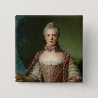 Portrait of Marie Adelaide  1756 Button