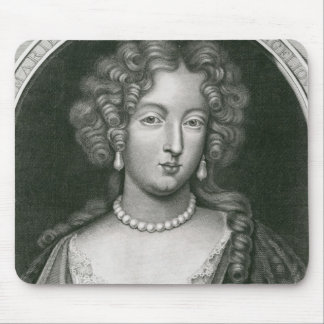 Portrait of Marie Angelique de Scoraille Mouse Pad