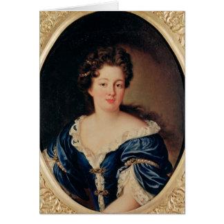 Portrait of Marie-Anne Mancini  Princess Colonna Card