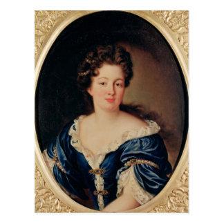 Portrait of Marie-Anne Mancini  Princess Colonna Postcard