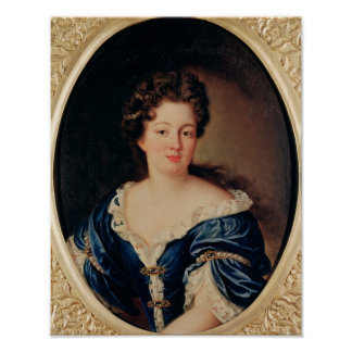 Portrait of Marie-Anne Mancini  Princess Colonna Poster