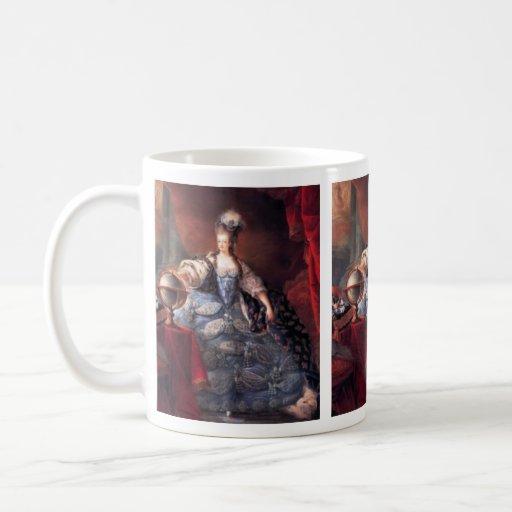PORTRAIT OF MARIE ANTOINETTE 5 CLASSIC WHITE COFFEE MUG