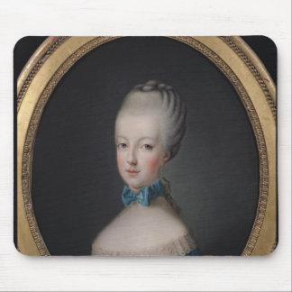 Portrait of Marie-Antoinette de Mouse Pad
