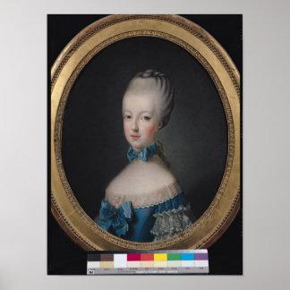 Portrait of Marie-Antoinette de Print