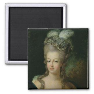 Portrait of Marie-Antoinette Fridge Magnets