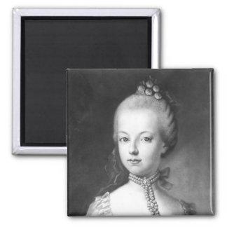 Portrait of Marie-Antoinette  of Habsbourg Magnet