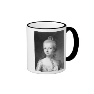 Portrait of Marie-Antoinette  of Habsbourg Coffee Mugs