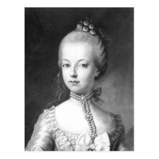 Portrait of Marie-Antoinette  of Habsbourg Postcard