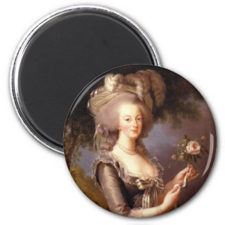 Portrait of Marie Antoinette, Queen of France Magnets