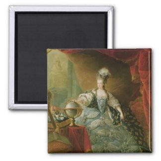 Portrait of Marie Antoinette  Queen of France Magnet