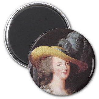 Portrait of Marie Antoinette, Queen of France Refrigerator Magnets