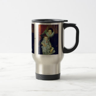 Portrait Of Marie Clarisse Wife Of Jan Woverius Mugs