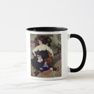 Portrait of Marie Coca and her Daughter, 1913 Mug