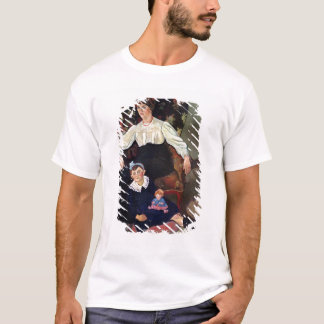Portrait of Marie Coca and her Daughter, 1913 T-Shirt