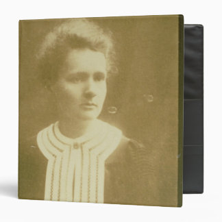 Portrait of Marie Curie Binder