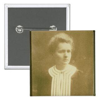 Portrait of Marie Curie Pins