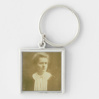 Portrait of Marie Curie Keychain