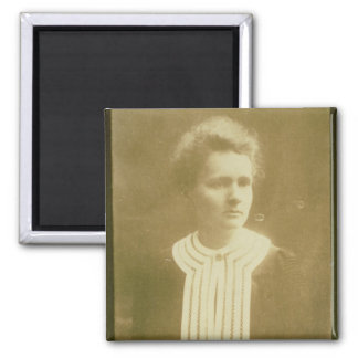 Portrait of Marie Curie Magnet
