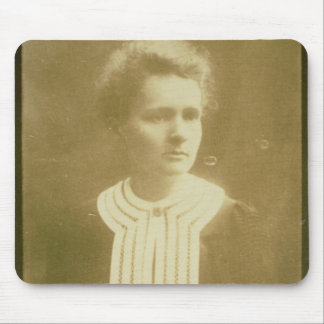 Portrait of Marie Curie Mouse Pad