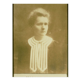 Portrait of Marie Curie Postcard