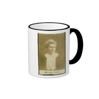 Portrait of Marie Curie Ringer Mug