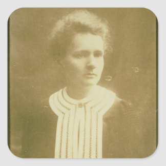 Portrait of Marie Curie Square Sticker