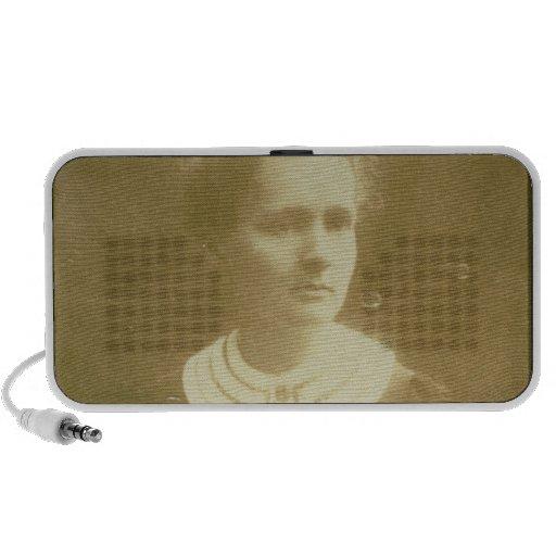 Portrait of Marie Curie Travel Speaker