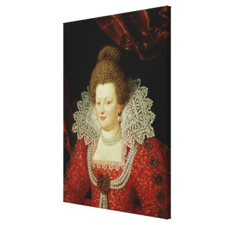 Portrait of Marie de Medici Gallery Wrap Canvas