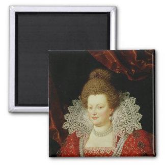 Portrait of Marie de Medici Magnets