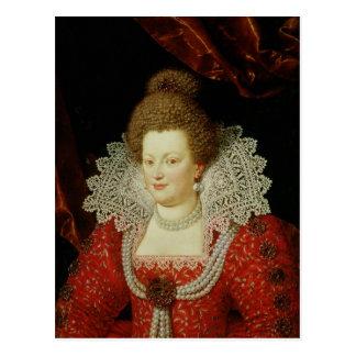 Portrait of Marie de Medici Post Card