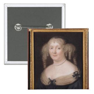 Portrait of Marie de Rabutin-Chantal  Marquise Button
