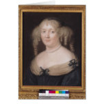 Portrait of Marie de Rabutin-Chantal  Marquise Cards