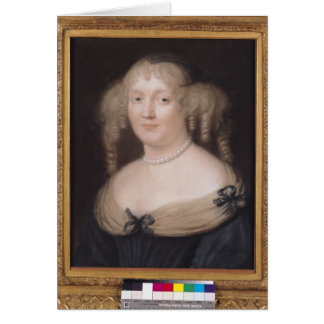 Portrait of Marie de Rabutin-Chantal  Marquise Cards