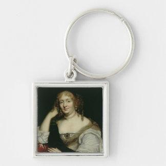 Portrait of Marie de Rabutin-Chantal  Marquise Keychain