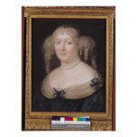Portrait of Marie de Rabutin-Chantal  Marquise Posters