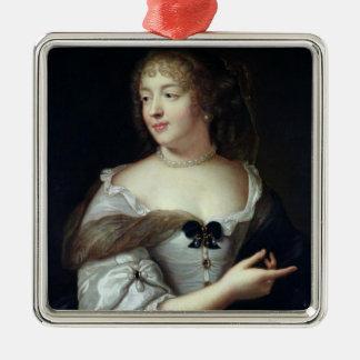 Portrait of Marie de Rabutin-Chantal Metal Ornament