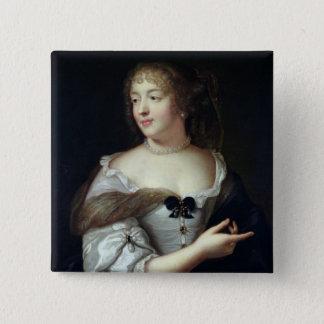 Portrait of Marie de Rabutin-Chantal Pinback Button