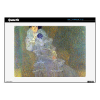 Portrait of Marie Henneberg by Klimt Acer Chromebook Decals