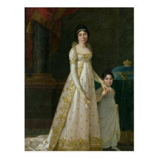 Portrait of Marie-Julie Clary  Queen of Naples Postcard