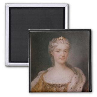 Portrait of Marie Leczinska  Queen of France Refrigerator Magnet