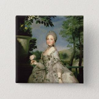 Portrait of Marie-Louise of Bourbon Pinback Button