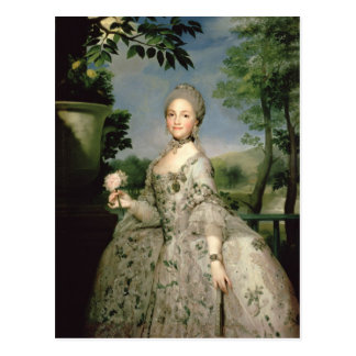 Portrait of Marie-Louise of Bourbon Postcard