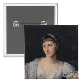 Portrait of Marie-Pauline Bonaparte Pinback Button